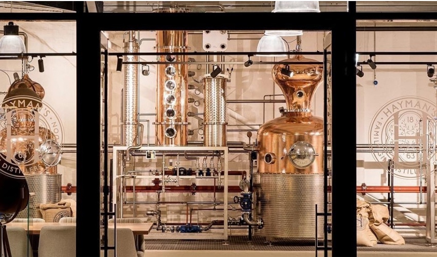 english gin distilleries