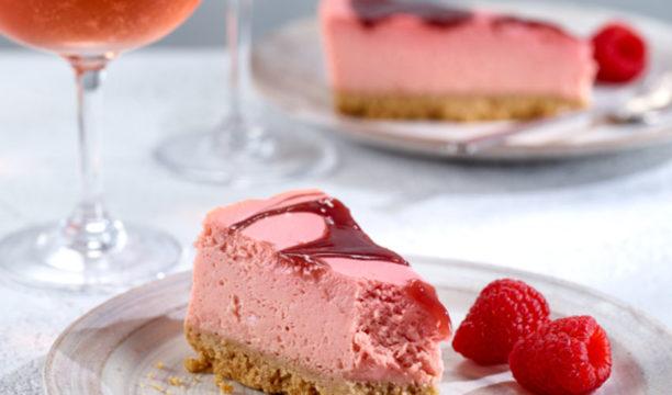 asda pink gin cheesecake