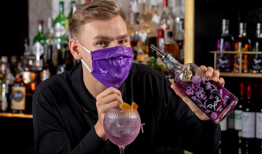 boe gin face mask