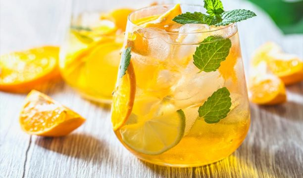 Light and Lovely Lemon Verbena Gin Spritz Is Perfect for a Summer's Day