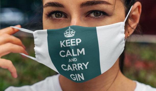 5 Gin-Themed Face Masks That Will Provide a Little Cheer During Shopping Trips