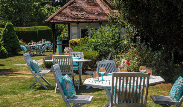 Silent Pool Gin Have Opened a Stunning Gin Garden Serving Afternoon G&Tea