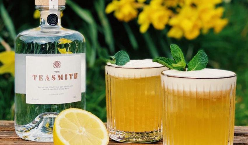 teasmith gin sour