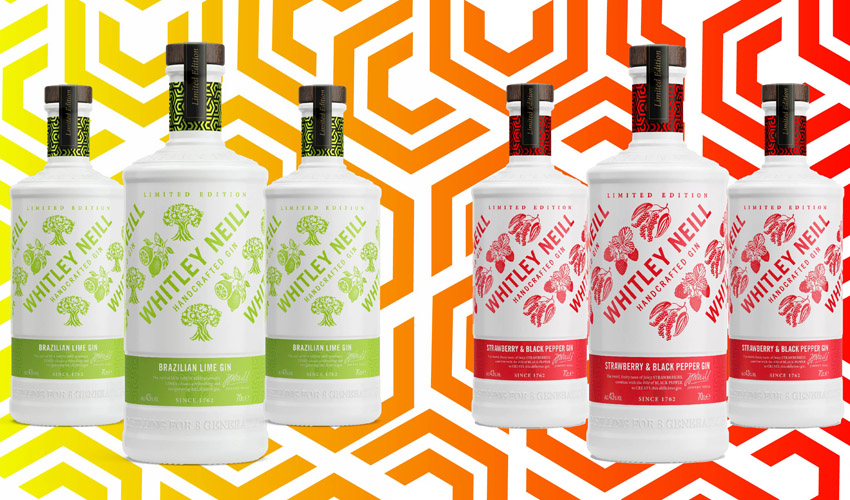 whitley neill new gin flavours