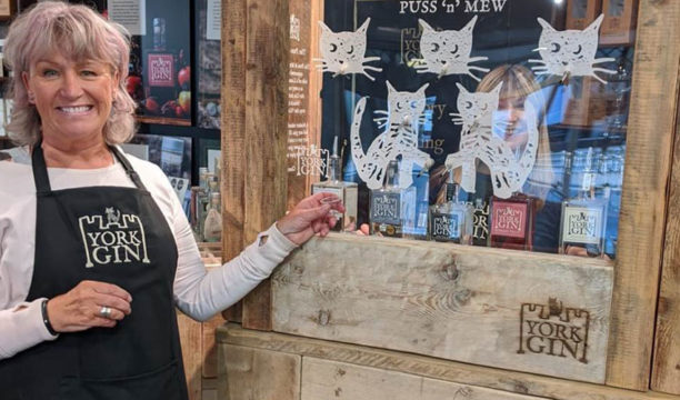 A Gin Shop in York Now Has a Gin Vending Machine Redesigned from an Ancient Illegal Contraption