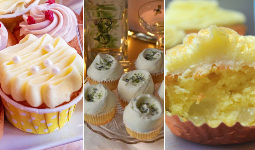 Featured Image for 3 Gin Cupcakes Recipes That Are the Very Best of Boozy Baking