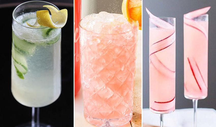 gin fizz cocktails
