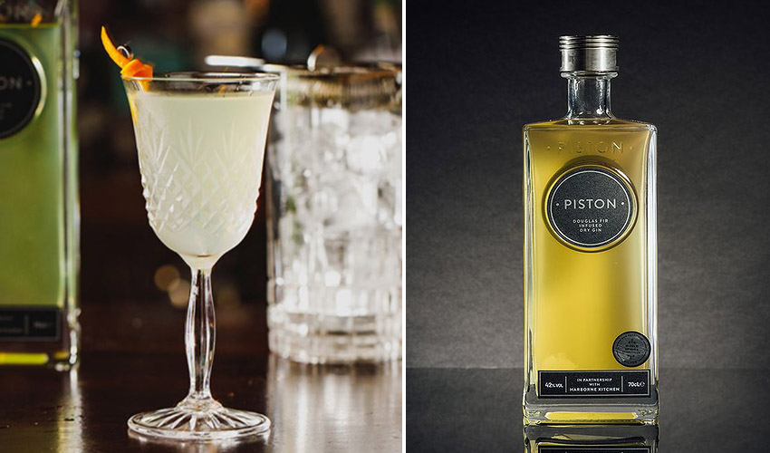 Featured Image for Douglas Fir Infused Piston Gin Makes a Distinctive and Delicious Martini