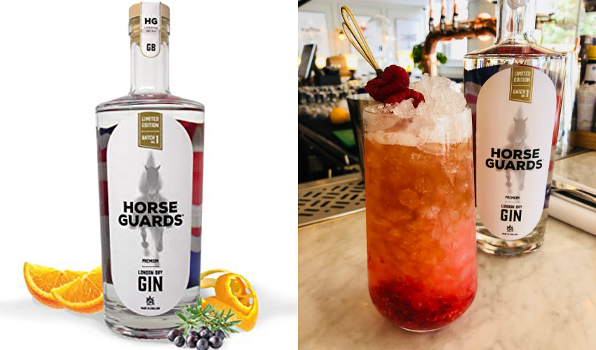 horse guards gin bramble