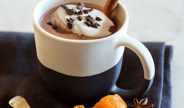 hot chocolate gin