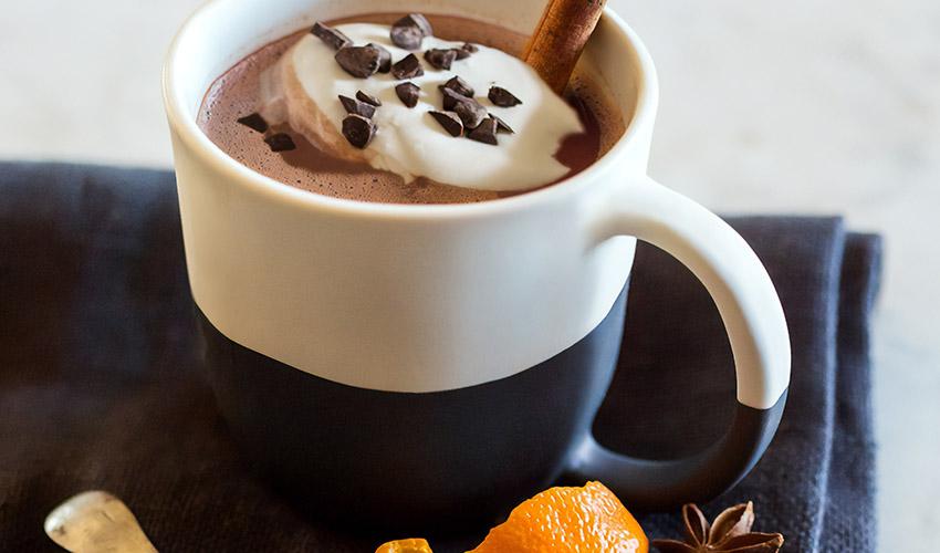 hot chocolate gin