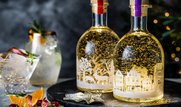 The M&S Snow Globe Gin Is Back and It Now Lights Up