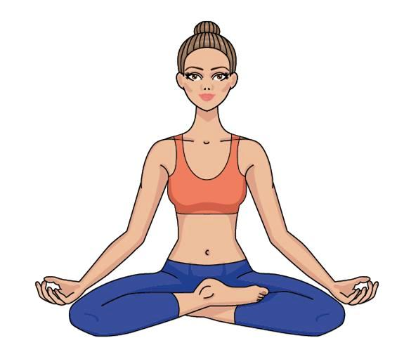 3 Home Yoga Moves To Heal Your Mind