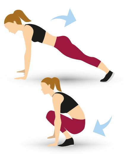 Blitz 200 Calories In Six Moves