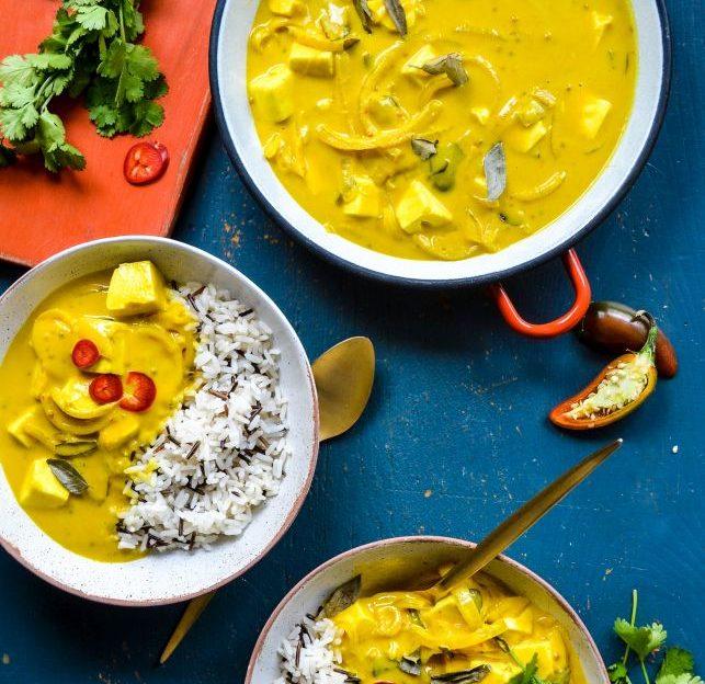 Tofu and Mango Curry