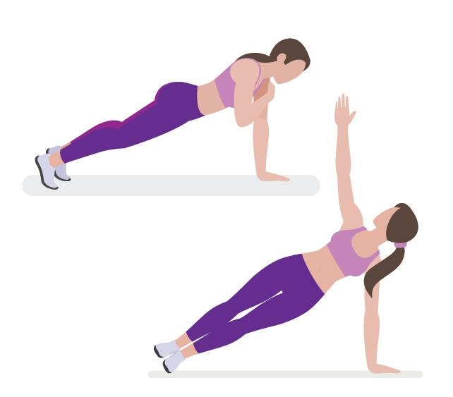 5 Moves To Work More Of Your Body