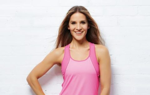 Amanda Byram in gym gear
