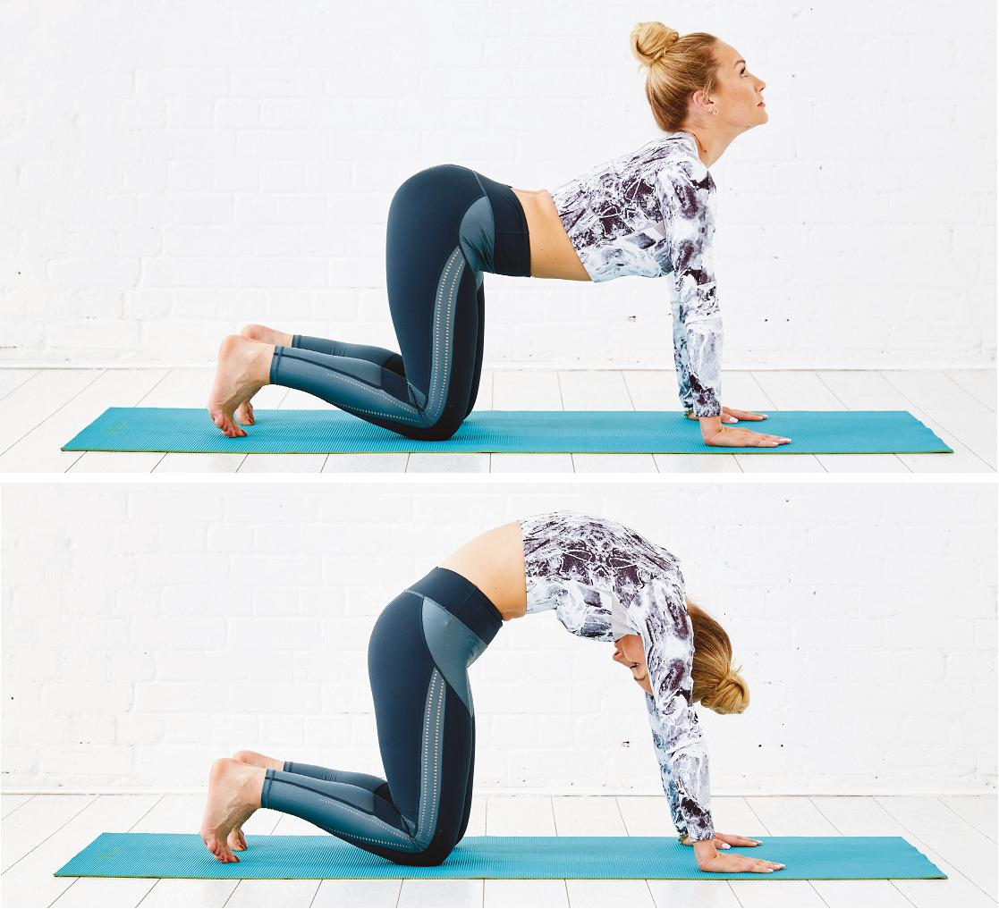 4 Yoga Moves You Need To Try To Combat Back Pain