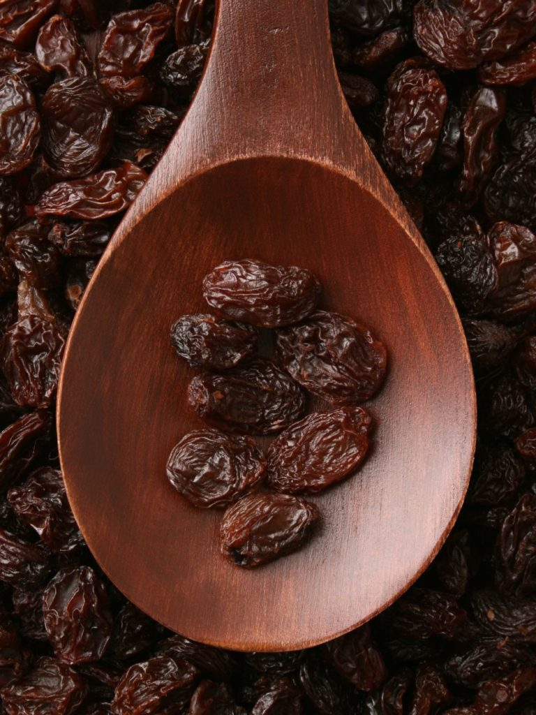 health benefits of california raisins