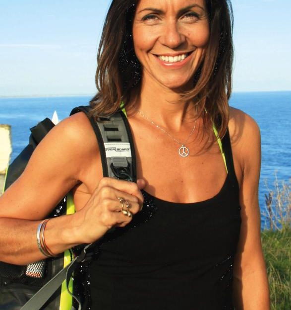 Julia Bradbury hiking