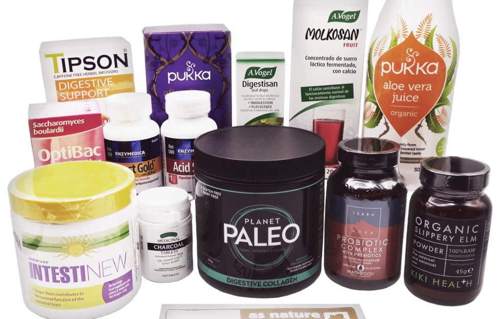 A bundle of food and drink products to help support your gut