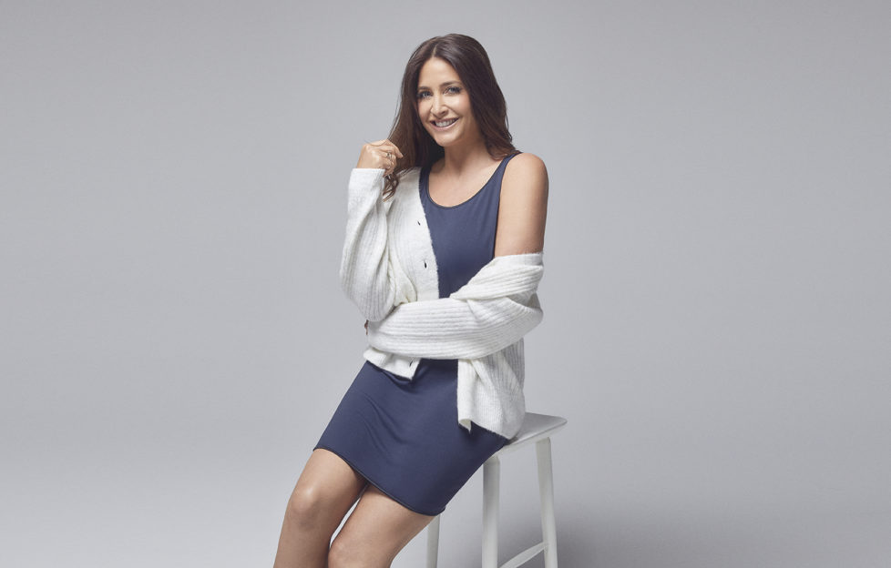 Lisa Snowdon wear Become clothing