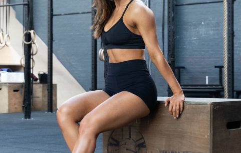 Personal trainer, Krissy Cela ready to workout