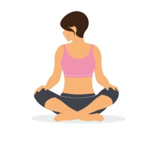 try this yoga flow if you're feeling overwhelmed  health