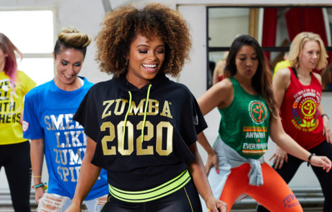 Singer songwriter Fleur East puts her dance skills to the test