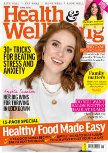 Health & Wellbeing June issue cover