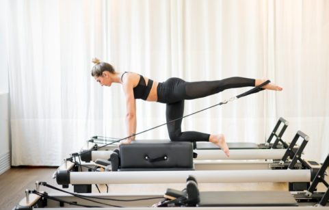 There are different types of Pilates and reformer is one of them.