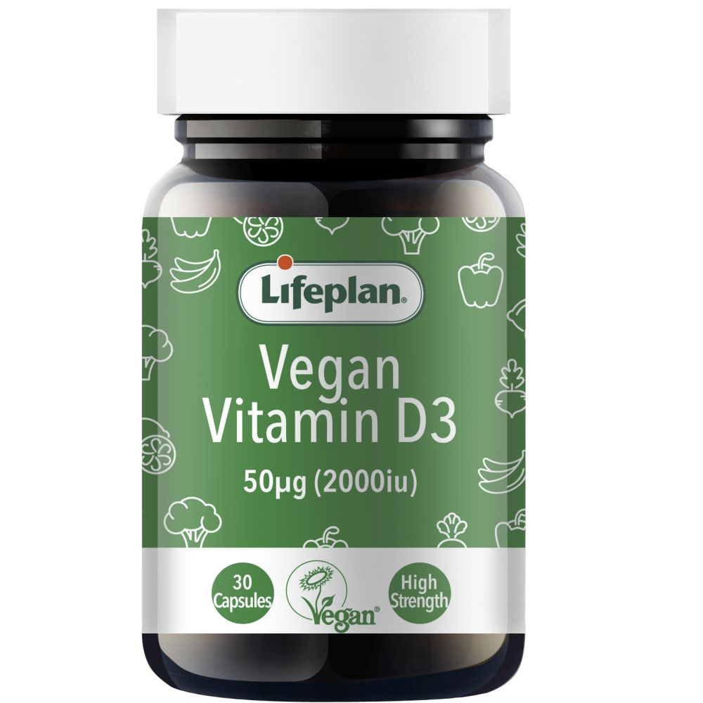 Lifeplan vegan D3 supplements 2000iu