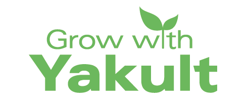 Grow with Yakult campaign logo