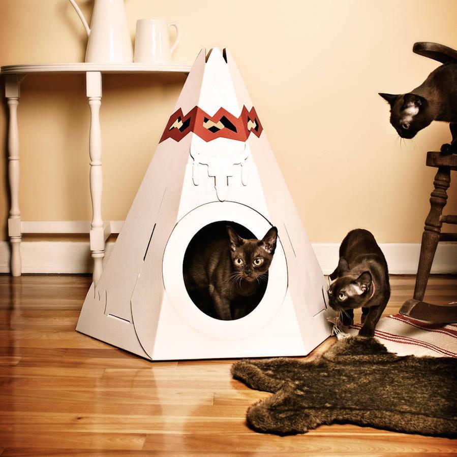 Unique cat house