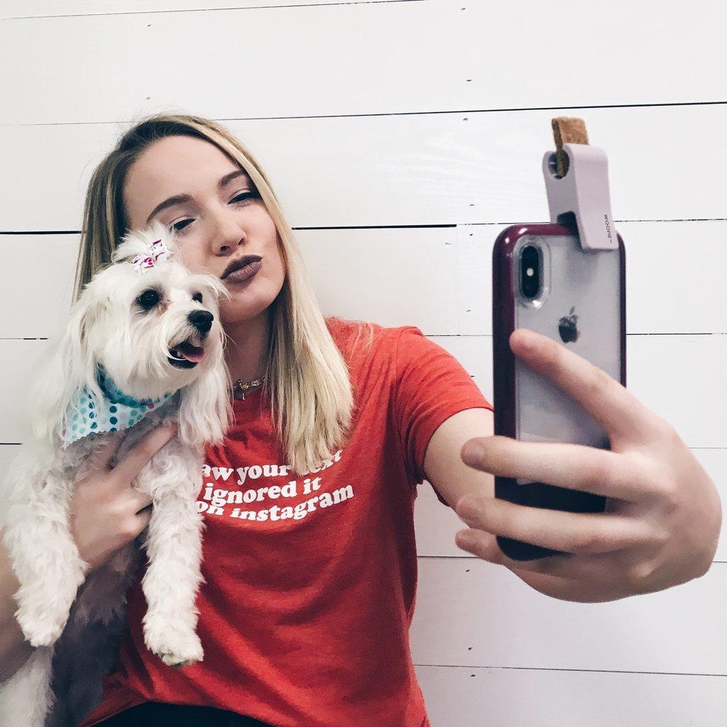 dog selfie attachments