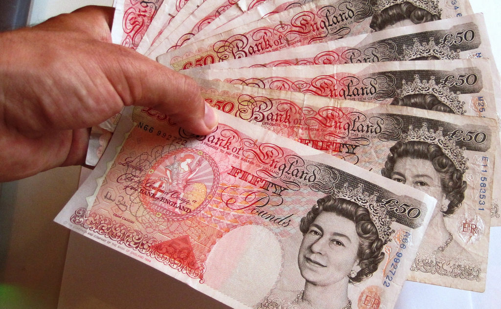 £50 notes
