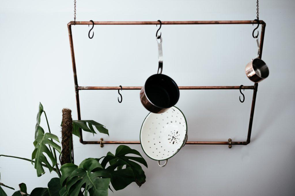 kitchen ceiling rack