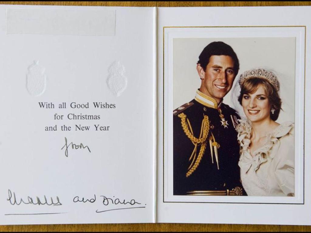 Royal Christmas card through years