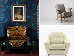 Luxe armchair ideas