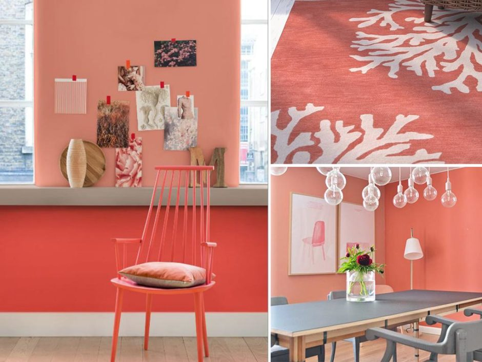 Pantone colour 2019 into the home