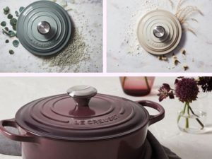 le creuset spring collection