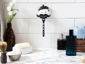 bathroom razor holder