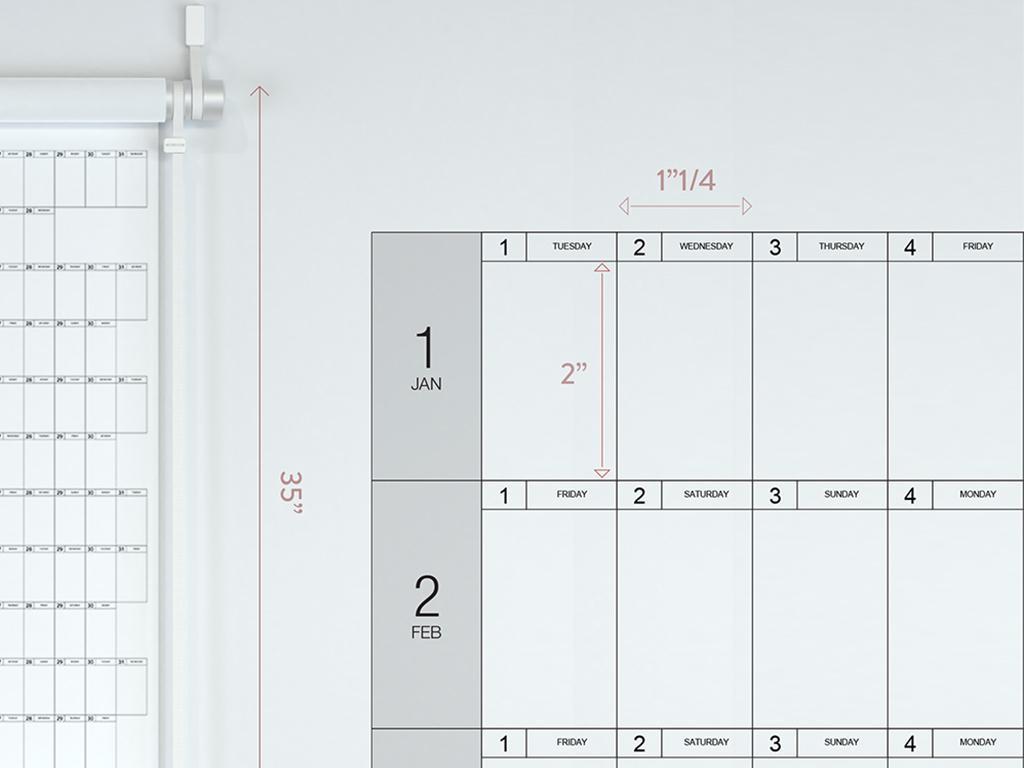 yearly calendar planner