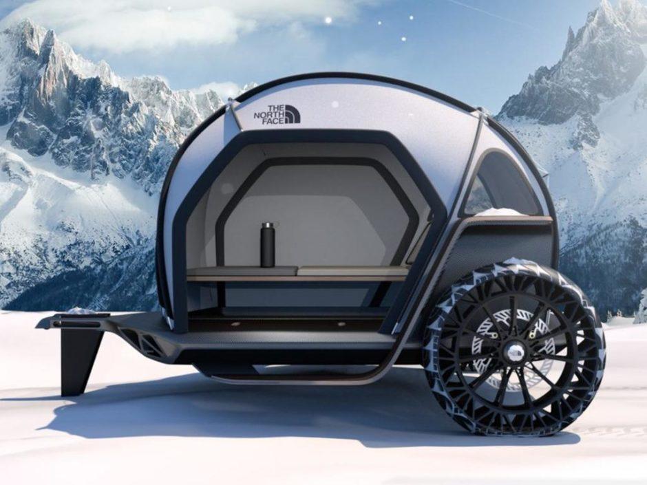the north face futurelight trailer