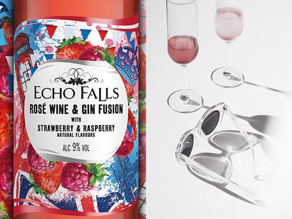 echo falls rose gin fusion