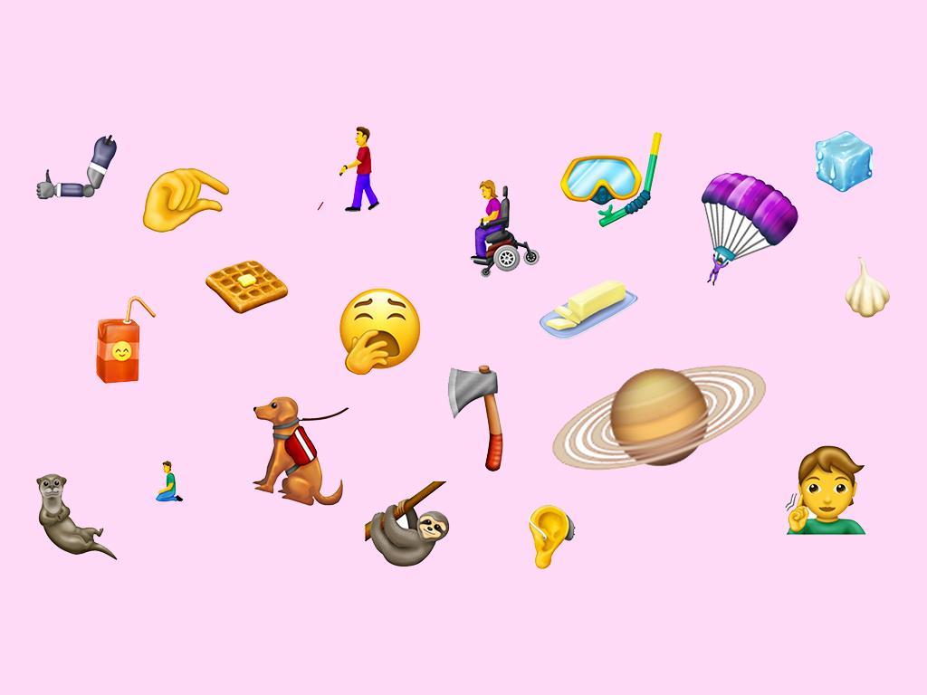 2019 emojis