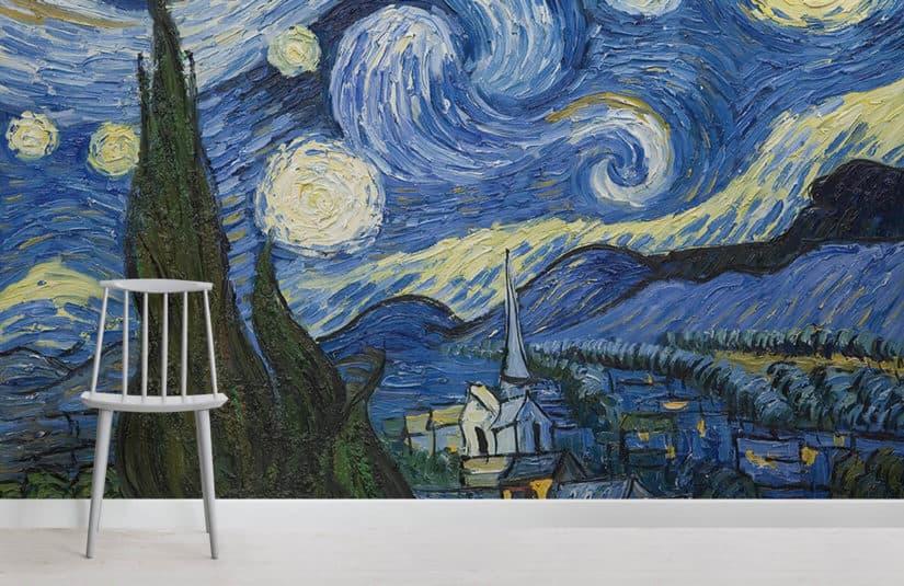 van gogh paintings wallpaper