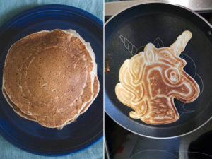 This Pancake Pan Makes The Easiest Unicorn Pancakes