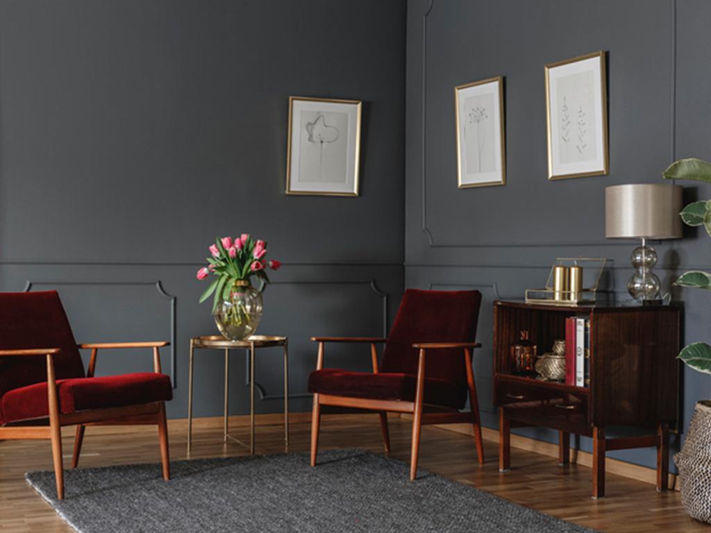 modern gothic interiors