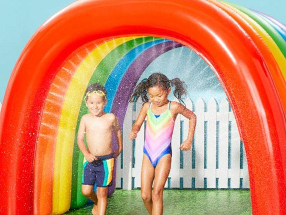 rainbow tunnel sprinkler